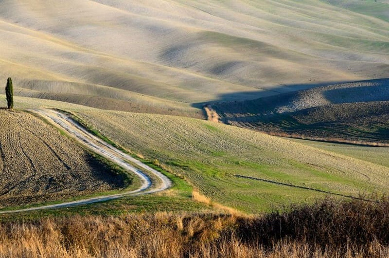 Crete Senesi, the Lunar Landscape of Tuscany