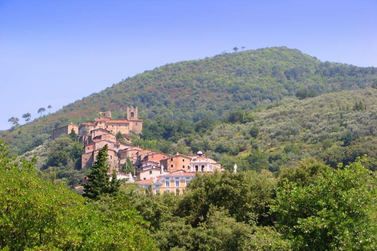 Collodi, hill town in Tuscany