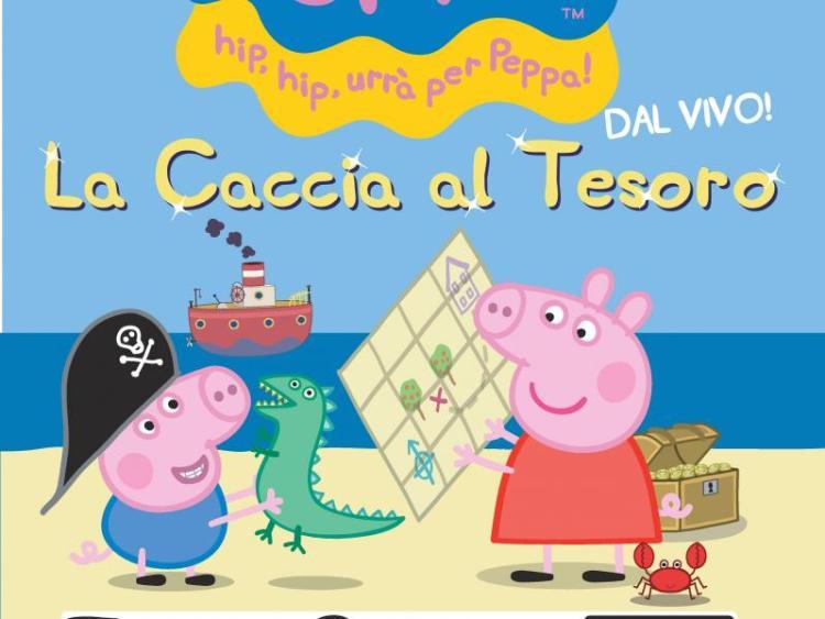 La Caccia al Tesoro, lo spettacolo dal vivo di Peppa Pig