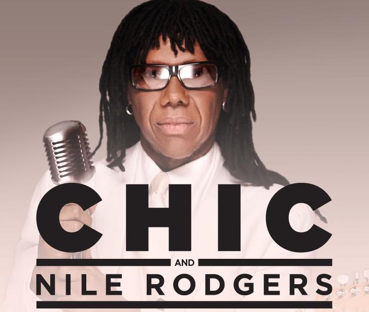 Sul palco del Lucca Summer Festival 2014 salirà Nile Rodgers