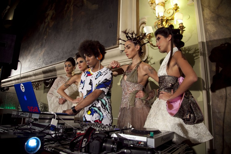 Pitti Uomo 2014: modelle al Fashion Frames