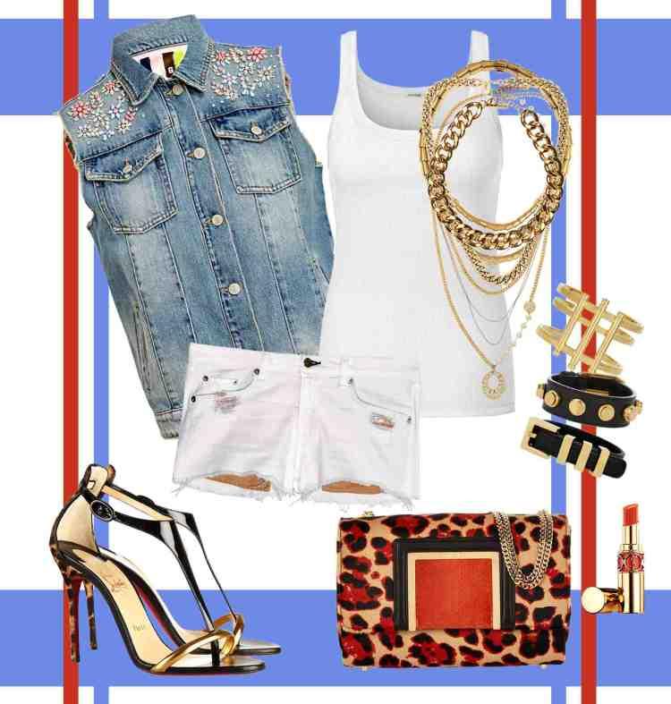 La fashion blogger Rossella Cannone ci parla del jeans delle collezione estive 2014