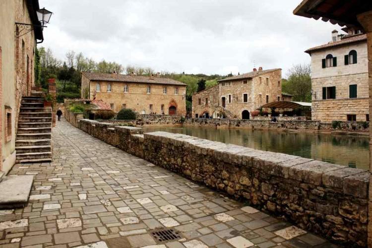 Bagno Vignoni - San Quirico d'Orcia Toscana 01