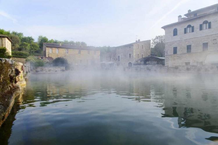 Bagno Vignoni - San Quirico d'Orcia Toscana 05