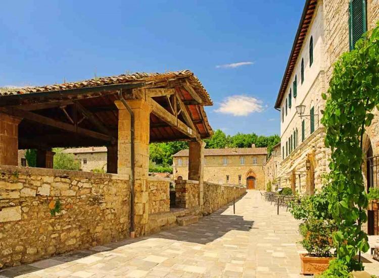Bagno Vignoni - San Quirico d'Orcia Toscana 06
