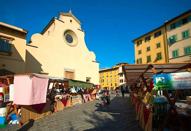 Mercati tipici a Firenze: La Fierucola