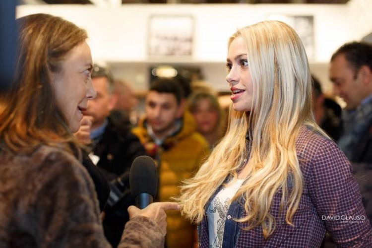 TuscanyPeople intervista a Martina Stella a Pitti Immagine Uomo 2015