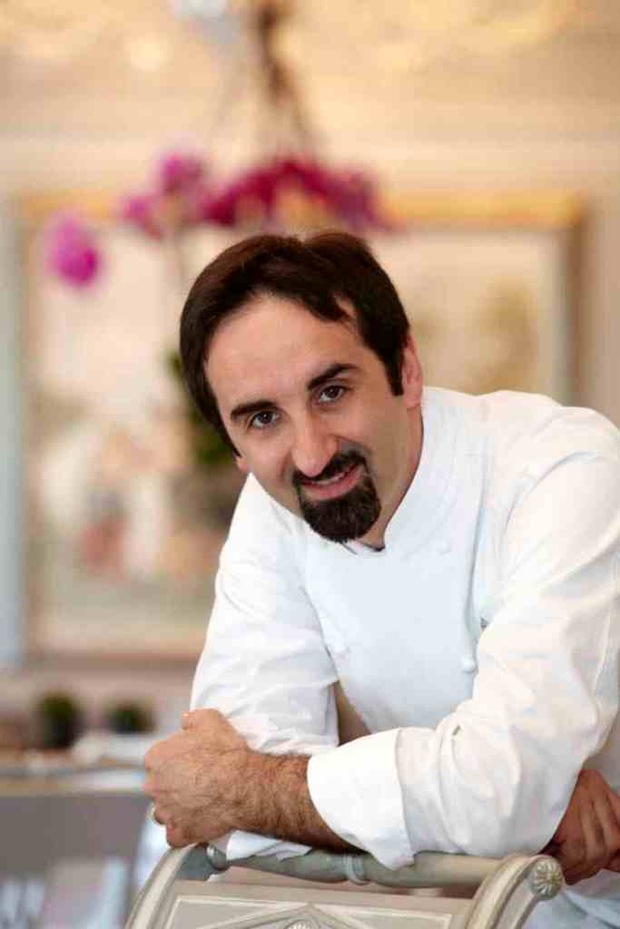 Vito Mollica Executive Chef del Ristorante Il Palagio Firenze al Four Seasons Hotel Firenze