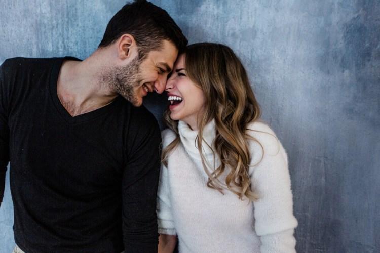 Giovane coppia di innamorati