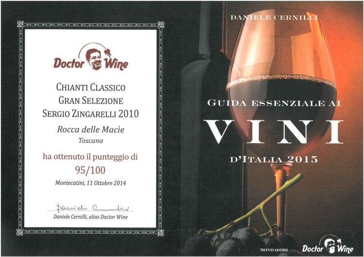 Sergio Zingarelli è Presidente dell'azienda vitivinicola Rocca delle Macìe e del Consorzio Vino Chianti Classico, che quest'anno celebra i suoi 300 anni.