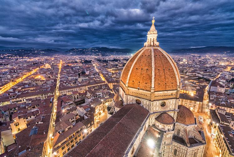 La cupola del Duomo di Firenze è stata progettata da Filippo Brunelleschi