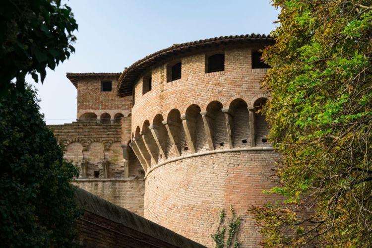La Rocca di Rivaldino si trova a Forlì