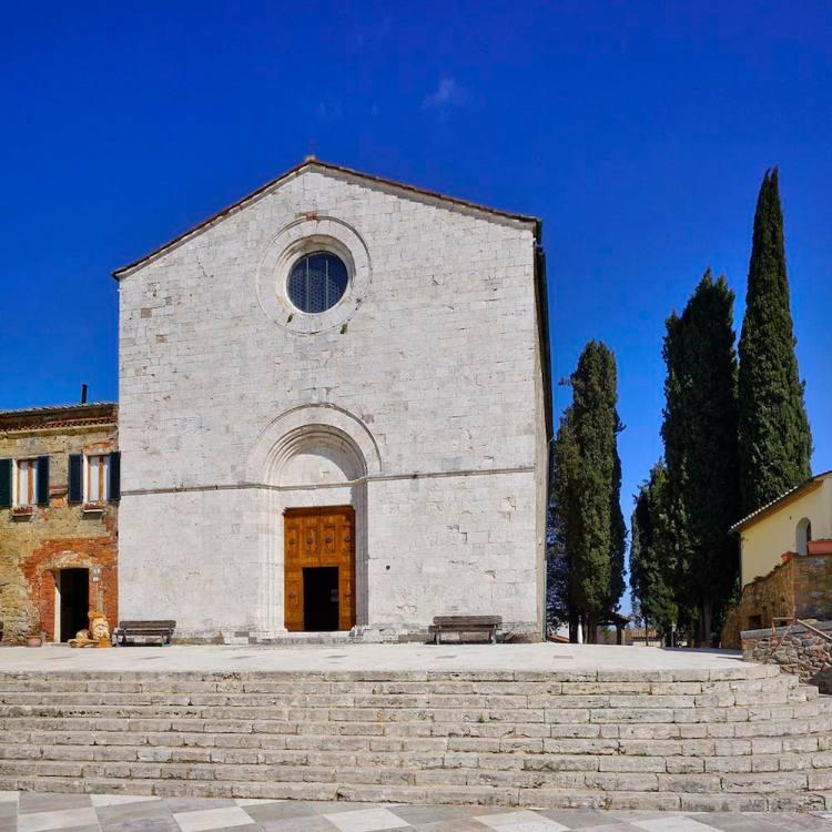 Chiesa del Beato Antonio Patrizi nel borgo toscano di Monticiano