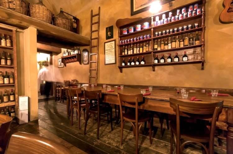 Una delle classiche Trattorie tipiche a Firenze dove mangiare cucina toscana