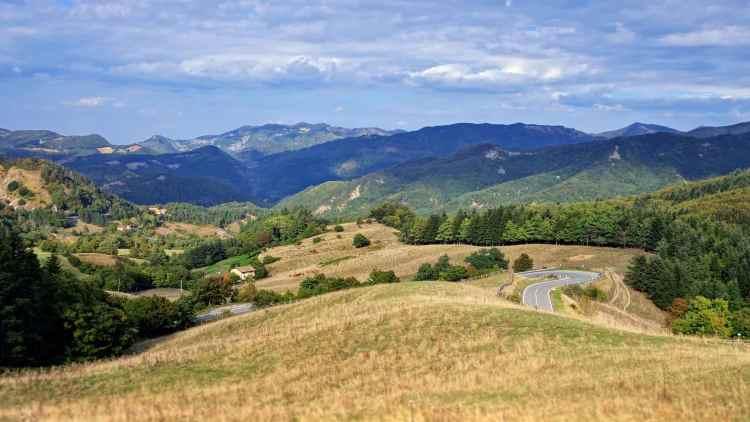 L'Alto Mugello è uno dei migliori luoghi dove andare in mountain bike in Toscana