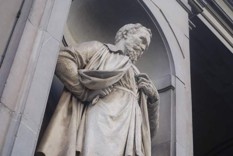 Michelangelo è uno dei principali rappresentati del Rinascimento