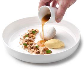 A Piero, piatto dell'Executive Chef Andrea Mattei dei ristoranti della Famiglia Vaiani