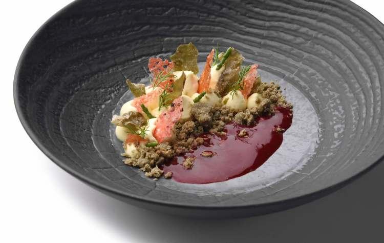 Dolcemare, piatto dell'Executive Chef Andrea Mattei dei ristoranti della Famiglia Vaiani