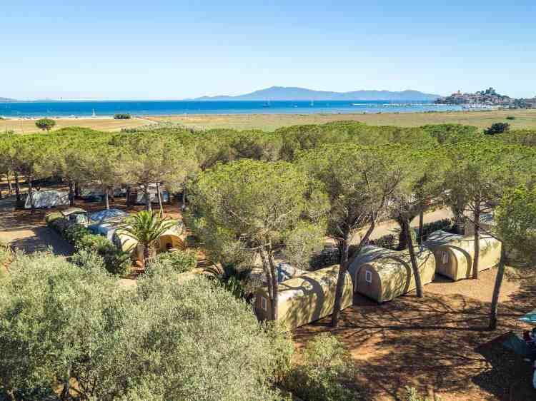 Il glamping Talamone è un'ottima meta per una vacanza in Toscana green e sostenibile.