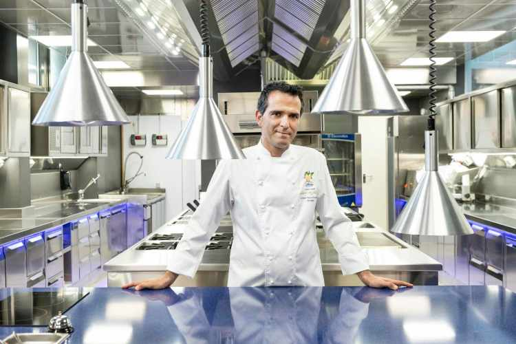 Chef Luca Landi del ristorante Lunasia di Viareggio - 1^ Stella Michelin