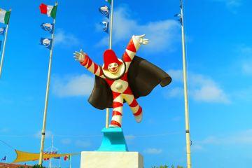 Le maschere di Carnevale della Toscana: Burlamacco del Carnevale di Voareggio