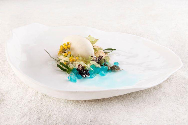 Gelato da spiaggia dello Chef Luca Landi del ristorante Lunasia di Viareggio