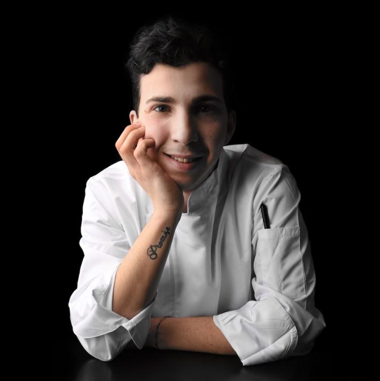 Lo chef del ristorante a Pistoia I Salaioli