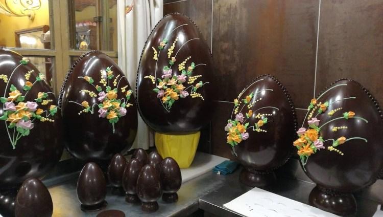 La Cioccolateria Ballerini è una delle migliori cioccolateria a Firenze dove comprare uova di cioccolato artiginali