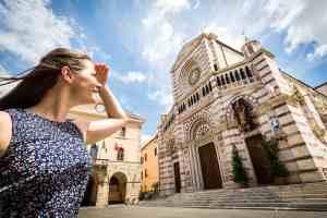 Cosa vedere a Grosseto: il Duomo in Piazza Dante