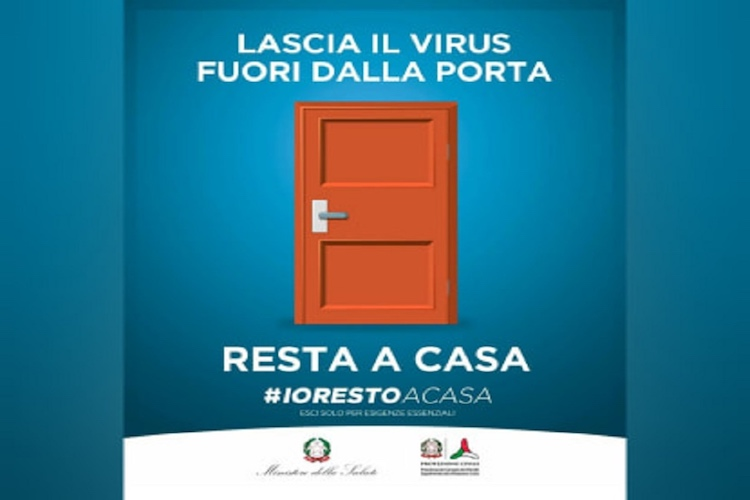 Io resto a casa, il decreto del Governo italiano per combattere l'epidemia