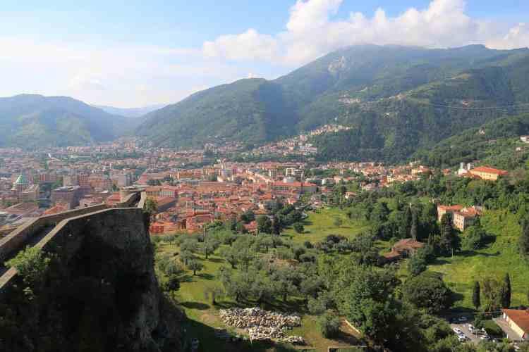 Vista dal Castello Malaspina di Massa