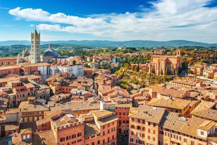 #mytuscany is Siena, la città del Palio vista dall'alto
