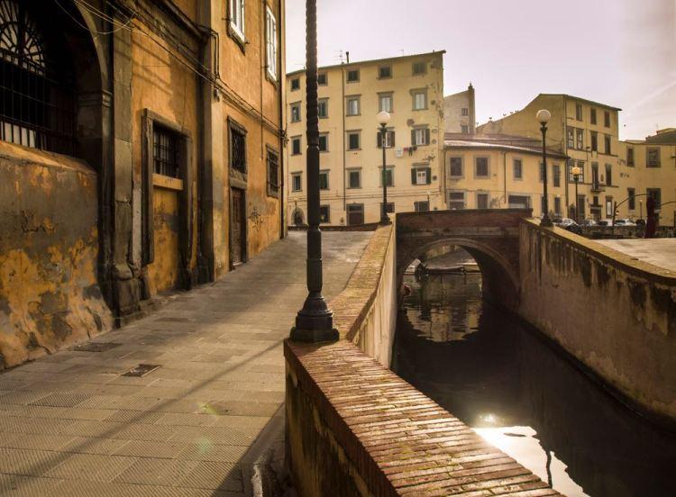 Canali nel quartiere La Venezia di Livorno