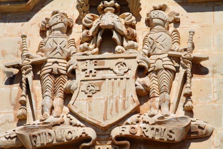 Ingresso alla Cattedrale di St. John a La Valletta, capitale di Malta