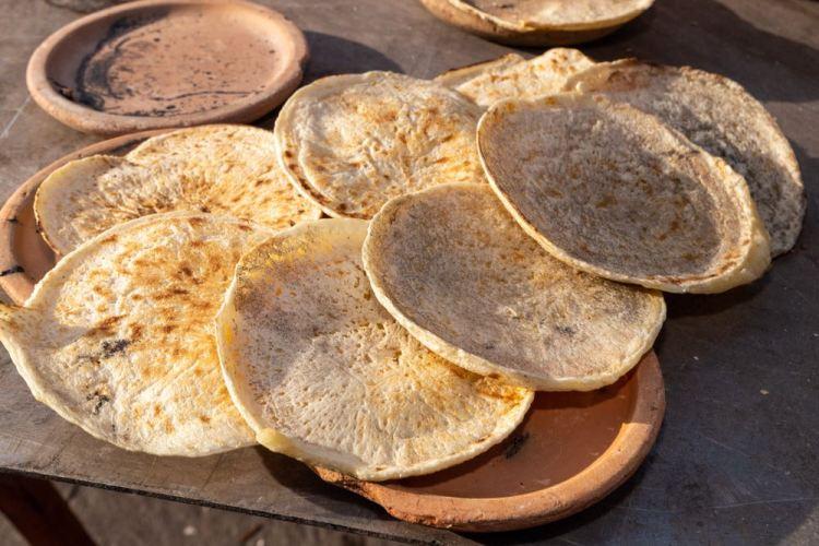 I Panigacci sono un piatto tipico della Lunigiana