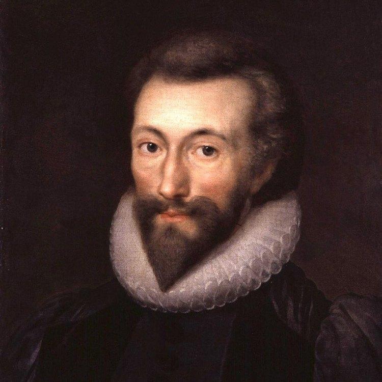 Ritratto del poeta John Donne dipinto da Isaac Oliver