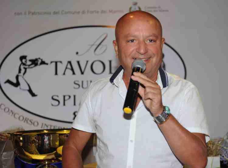 Maurizio Ferrini all'evento di Gianni Mercatali - A tavola sulla Spiaggia