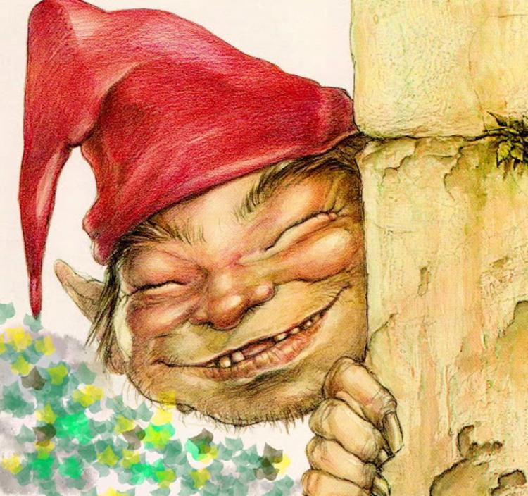 Il Buffardello è un folletto dei boschi della Garfagnana