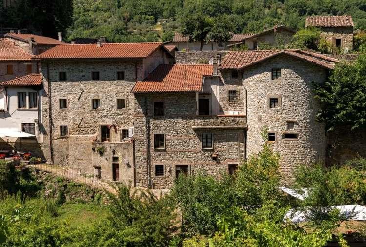 Case nel borgo toscano di Fivizzano
