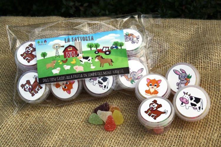 Le caramelle gelée Armilla in confezioni per bambini