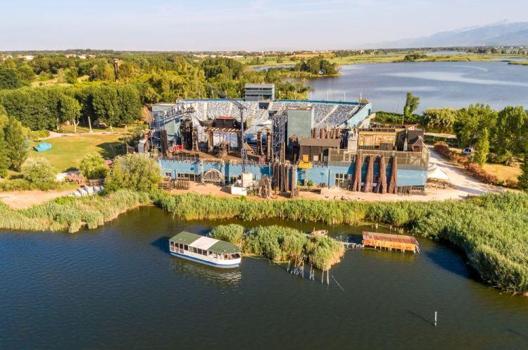 Gran Teatro all'Aperto Giacomo Puccini a Torre del Lago Puccini sul Lago di Massaciuccoli