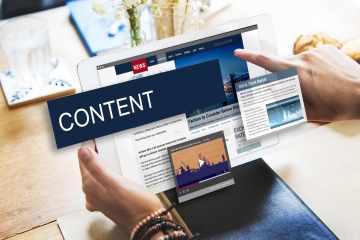 Immagine sul concetto dell'importanza del content marketing in una strategia aziendale