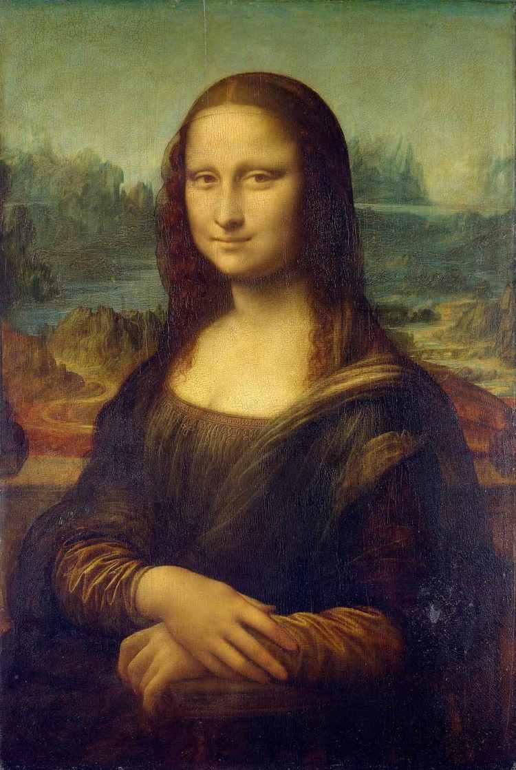 La Gioconda o Monna Lisa, opera di Leonardo da Vinci
