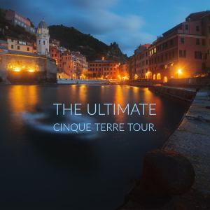Vernazza at the blue hour in Cinque Terre during our photo tour