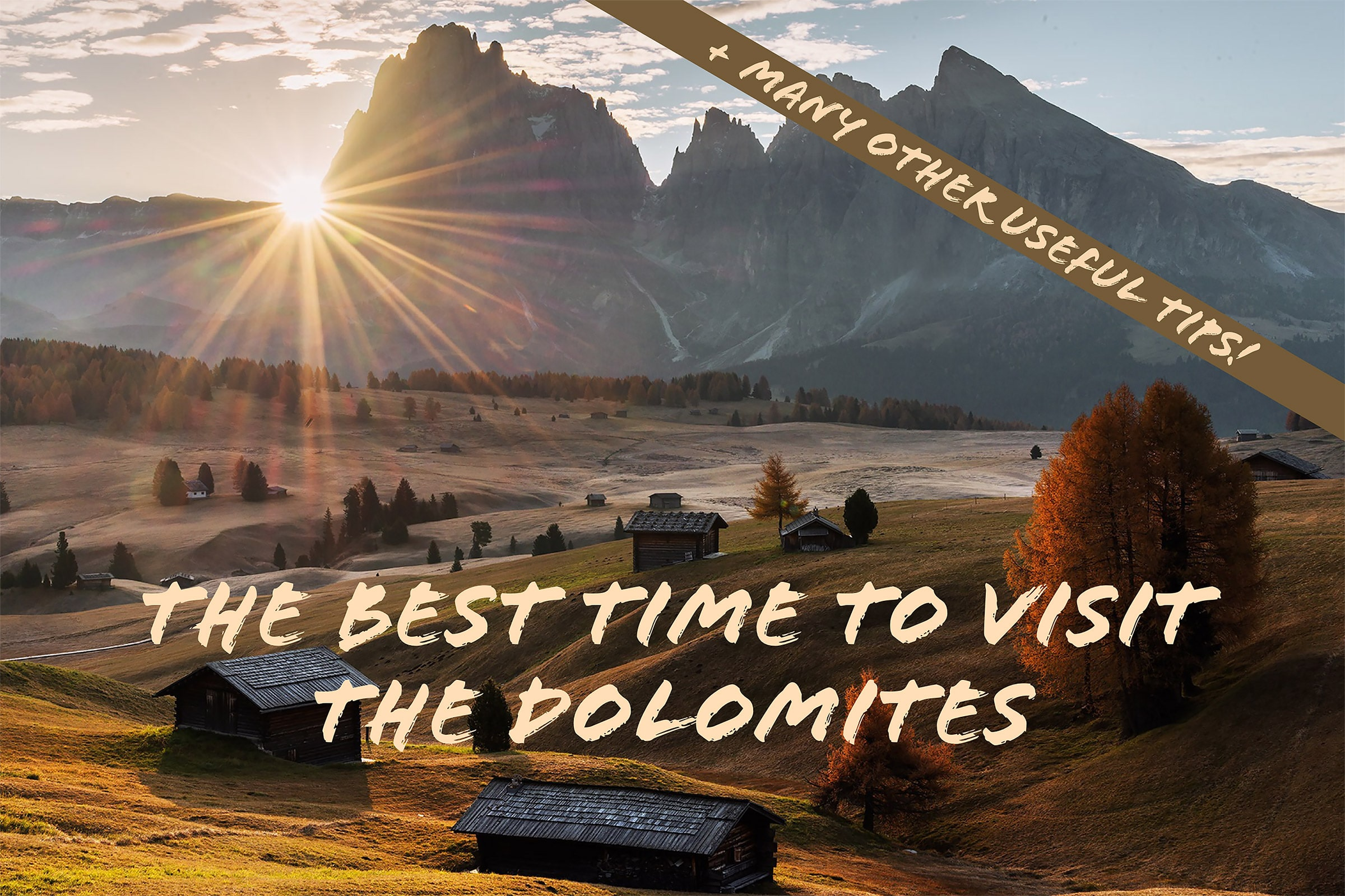dolomites photography guide