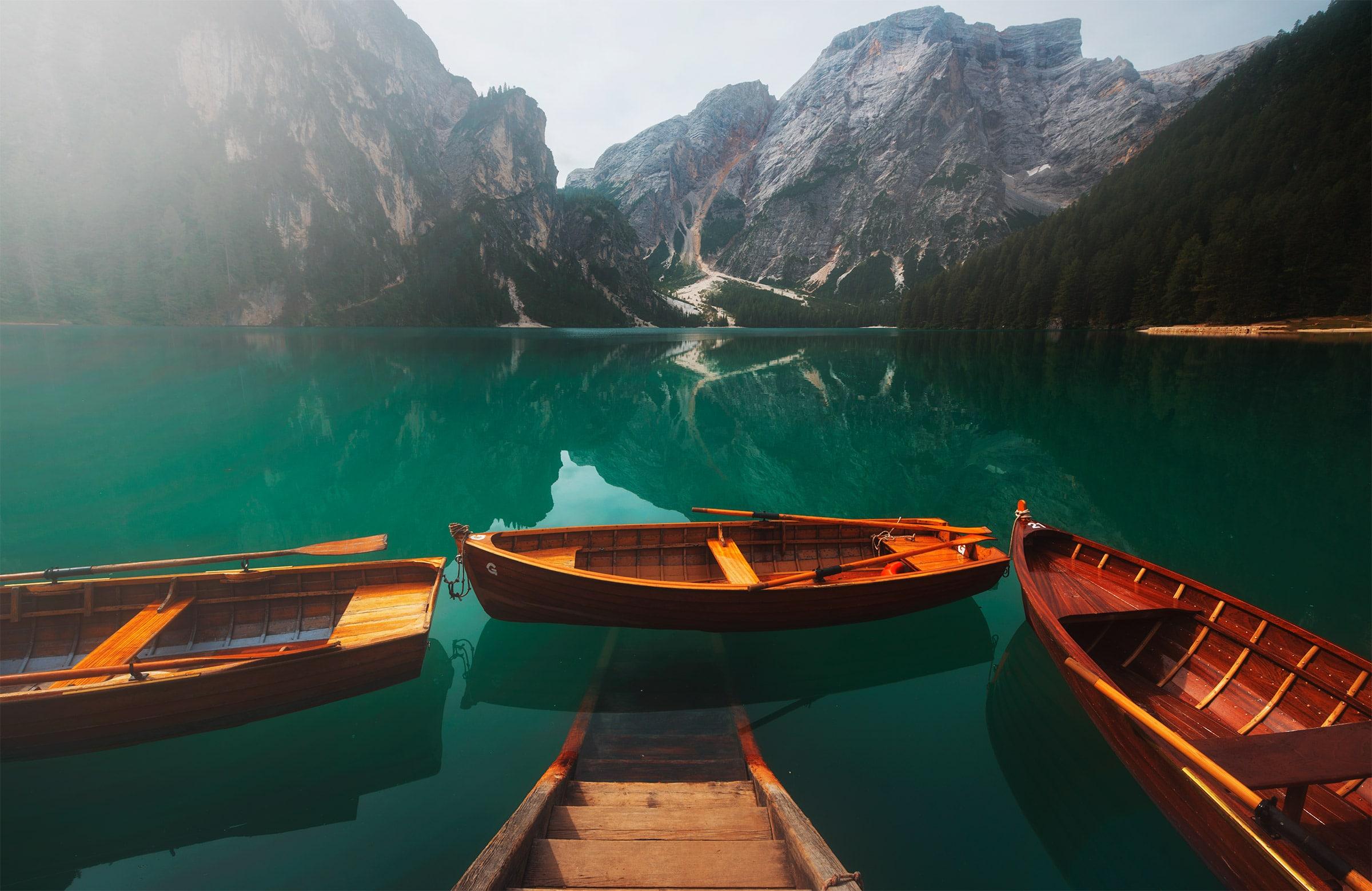 braies lake in summer photo workshop in dolomites