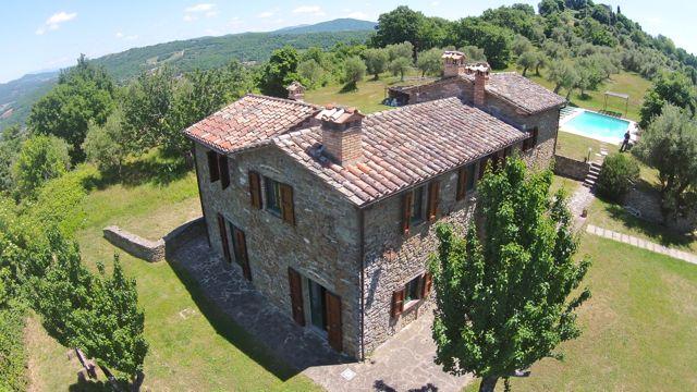 Drone Photos of Casa degli Ulivi  Holiday Villas Tuscany  Umbria