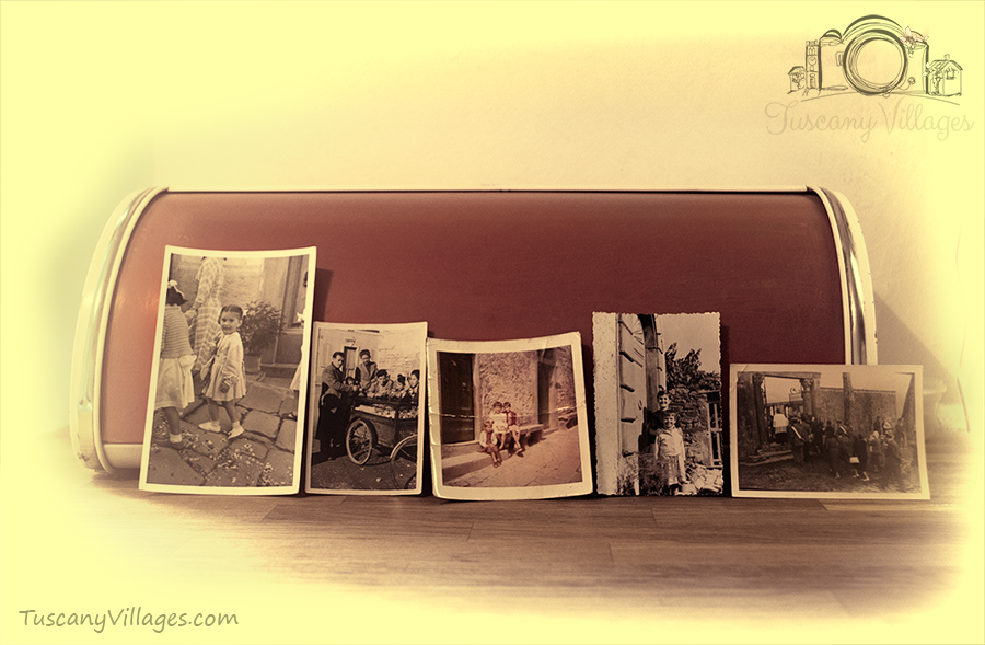 Vintage Image, Castelvecchio, Pescia.  60's bread bin