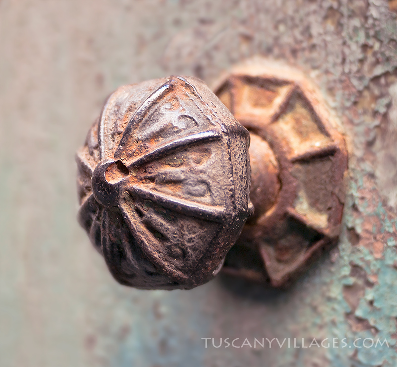Old rusty knocker