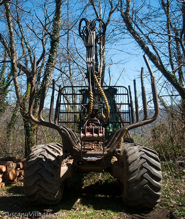Wood Tractor